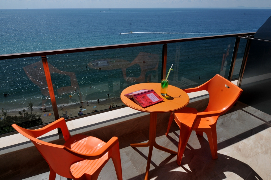 Room balcony Paradise Beach